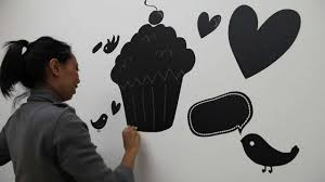 Chalk Board Wall Stickers Chalkboard Wall Sticker Chalk Wall Decal Video Lot 26 Studio