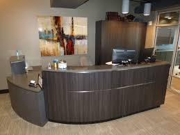Commercial Reception Desks by High End Commercial Cabinets Creative Surfaces Sioux Falls Sd
