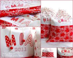 personalized santa sack personalized santa sack and white christmas sack with name