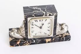 desk alarm clock antique art deco desk alarm clock on marble base c 1910