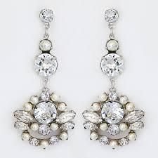 vintage bridal earrings art deco antique boho chic styles
