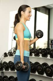 what size dumbbells to use popsugar fitness