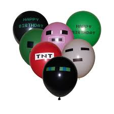 minecraft balloons diy minecraft party ideas for an interactive gamer boy s birthday