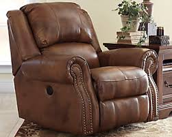 Brown Leather Recliner Sofa Ashley Leather Reclining Sofa Sofas
