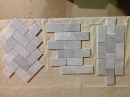 fired earth bridgehampton marble diamond sawn edge honed tiles
