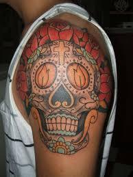 72 beautiful sugar skull tattoos with images sugar skull tattoos