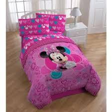 Amazon Com Disney Minnie Mouse Comforter Twin Full Size Home
