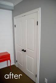 How To Replace Bifold Closet Doors Best 25 Closet Doors Ideas On Pinterest Bedroom Closet Doors
