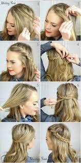 easy hairstyles not braids 7 super cute everyday hairstyles for medium length hair world magazine