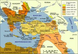 Ottoman Empire In Wwi Middle East During The War World War I In The Middle East
