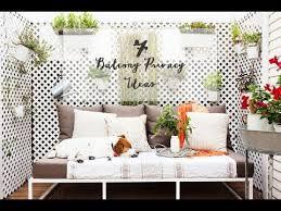 7 best balcony privacy ideas balcony garden youtube