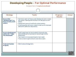 employee development plan template business development plan