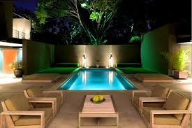 Decorating Small Backyards by Stunning Swimming Pools Decorating Rectangular Fair Pool Ideas