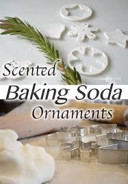 scented baking soda dough ornaments remington avenue
