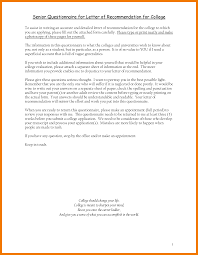 Letter Of Recommendation Template For Student by College Application Letter Of Recommendation Template