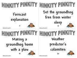 critical thinking groundhog day hink pinks et al by barbara