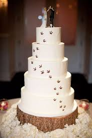 wedding cake topper with dog 12 dog wedding cake toppers since the pup is part of the family