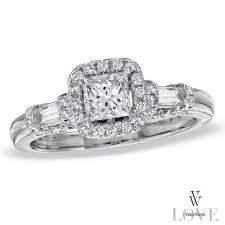 Zales Wedding Rings by 4 Engagement Rings From Vera Wang U0027s Zales Collection U2014all Less Than