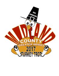 6th turkey trot u0026 kids fun run race day registration midland