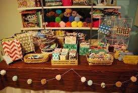 craft show table set up idea thrifted king sz flat sheet
