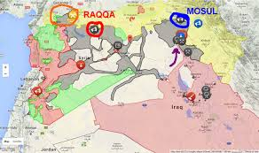 Map Of Syria And Russia War On Isis In Maps In The News U0026 Current Events Jwtalk