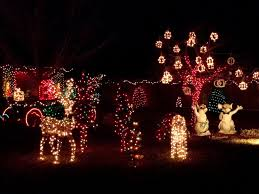 christmas excelent lighted deer christmas decoration home