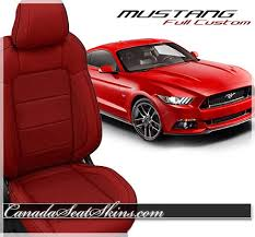2015 ford mustang 2015 2017 ford mustang katzkin custom leather upholstery