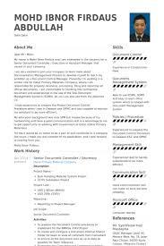 controller resume exle cv document controller jcmanagement co