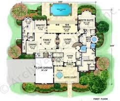 pasatiempo courtyard floor plans texas floor plans