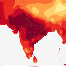 India On The World Map by India Heat Wave Kills Thousands Noaa Climate Gov