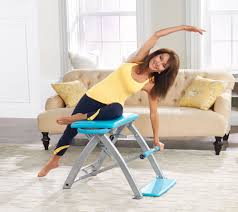 Exercise Chair As Seen On Tv Pilates Pro Chair With 4 Dvds By Life U0027s A Beach Page 1 U2014 Qvc Com