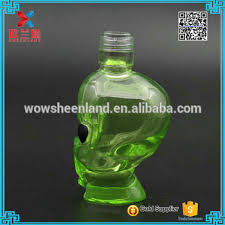 unique wine bottles for sale hot sale 50ml cool design shaped green glass wine bottles