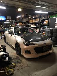 subaru voltex greddy lip voltex wing put on my brz ft86