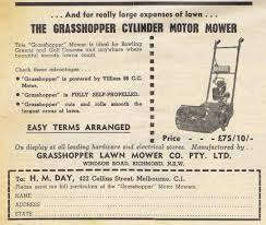 grasshopper power reel mower c1954 outdoorking repair forum