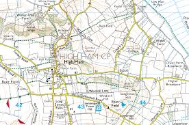 The Villages Map Langport Map Of Town And Somerset Levels