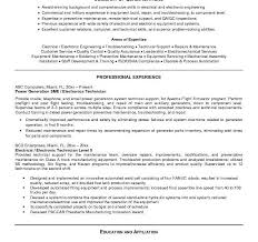 Diesel Mechanic Resume Examples by Smartness Inspiration Technician Resume 9 Free Electronic