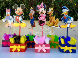 mickey mouse center pieces mickey mouse clubhouse birthday party wood guest table