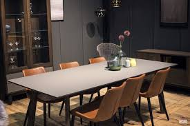 Gray Dining Room Table Serve It Bright 15 Ways To Add Color To Your Contemporary Dining