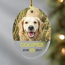 personalized dog christmas ornaments giftsforyounow