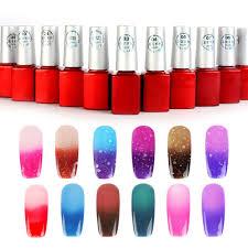 amazon com yesurprise temperature change color soak off nail art