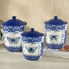 blue kitchen canister set 68 best canisters images on kitchen canisters