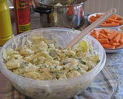 recette de cuisine allemande recette kartoffelsalat salade de pomme de terre cahier de cuisine