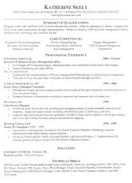 Good Summary Of Qualifications For Resume Examples by Executive Resume Example C Level Sample Resumes