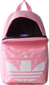 adidas classic trefoil backpack light pink bp classic trefoil backpack pink white