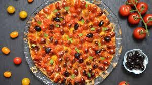 origan frais en cuisine pizza aux tomates cerise olives origan frais recette par turbigo