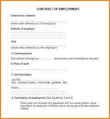 9 employment contract sample quote templates