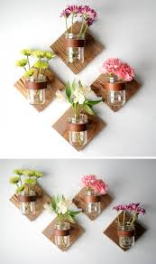 inexpensive kitchen wall decorating ideas decorating on a budget jar sconce rustic jars and