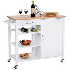 cheap kitchen island cart kitchen cabinets small space wheels rolling storage cabinet