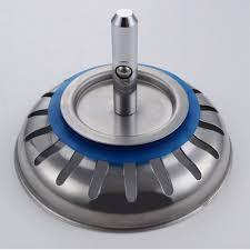 SUS Stainless Steel Kitchen Sink Strainer Stopper Waste Plug - Kitchen sink waste strainer