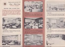 Sparks Nevada Map Nugget Casino Motor Lodge Map Of Reno U0026 Sparks Nv Ca 1959